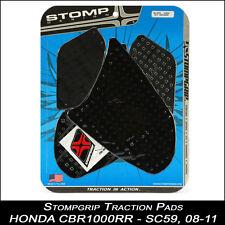 STOMPGRIP Traction Pads, HONDA CBR 1000RR,08-11,SC59,black,Tankpad,55-10-0021B