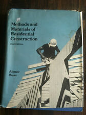 Methods and Materials of Residential Construction by Alonzo Wass (1977 STOR#3526