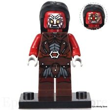 Custom Uruk-Hai Orc LOTR Minifigure fits with Lego xh474 UK Seller Hobbit