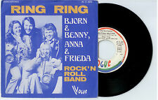"Bjorn & Benny/Anna & Frieda  ""Ring Ring/Rock ´N Roll Band l"" - French 7"" Single"