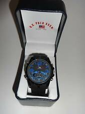 U.S. Polo Assn. Sport Men's US Analog Watch With Black Rubber Band
