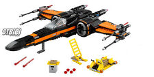 LEGO STAR WARS `` POE´S X-WING FIGHTER ´´ Réf 75102 MINIFIGURINES AUCUNE INCLUS