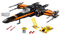 LEGO STAR WARS `` POE´S X-WING FIGHTER ´´   Ref 75102  MINIFIGURAS NO INCLUIDAS