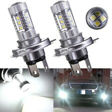 2x Bombilla 80W Samsung H4 Hi Lo LED Blanco Fog luz coche DRIVING DRL Light LAMP