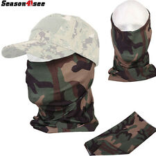 Airsoft Tactical Military Full Face Mask Scarf Quick-drying Camouflage EM6628H