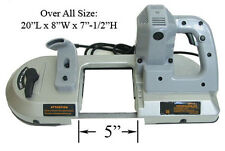 "4-1/2"" Portable BandSaw Band Saw Metal Cutting 700 Watt Cutter Metal"