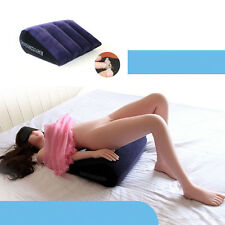 Inflatable Sex Aid Wedge Pillow Triangle Love Position Cushion Couple Furniture