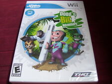 DOOD'S BIG ADVENTURE WII FACTORY SEALED!!!  UDRAW GAME TABLET REQUIRED!!!  C@@L!