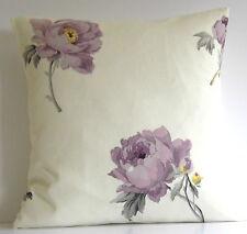 """Laura Ashley Peony Floral Amethyst 16"""" Cushion Cover"""
