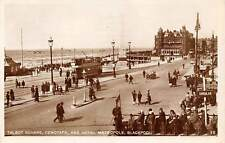 Talbot Square, Cenotaph and Hotel Metropole Cable Car Tram Blackpool 1931