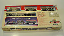 LEMAX CHRISTMAS VILLAGE EXPRESS TRAIN, 3 CARS W BACK AND FORTH TRAVEL