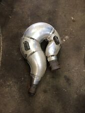 skidoo mach z 1000 exhaust  pipe stock ski doo muffler can