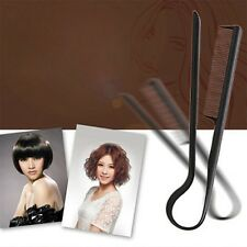 DIY Styling Straightening V Comb Clip-Type Hairdressing Hair Straightener HR