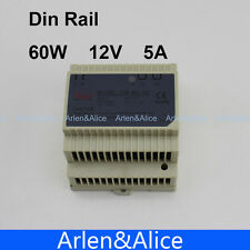 60W 12V 5A Din Rail Single Output Switching power supply AC TO DC SMPS