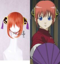 Japan Anime Gintama Silver Soul Kagura Cosplay Pair Headwears Hair Clips