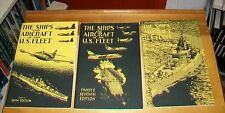 FAHEY'S THE SHIPS AND AIRCRAFT OF THE U.S.FLEET 6th 7th & 8th Edition REPRINTS