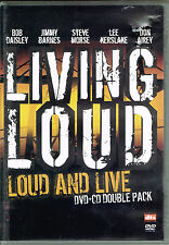 Loud And Live - Living Loud, BRAND NEW FACTORY SEALED (PAL Video/CD 2004 EMI)