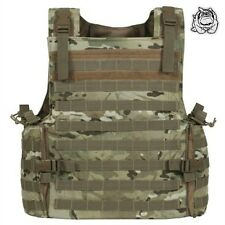 VOODOO TACTICAL ARMOR PLATE CARRIER VEST WITH MOLLE WEBBING 20-8399 / MULTICAM