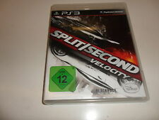 PlayStation 3 PS 3  Split/Second: Velocity