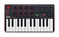 Midi Keyboard Controller Akai Professional Piano Organ USB Mini 25 Key Portable
