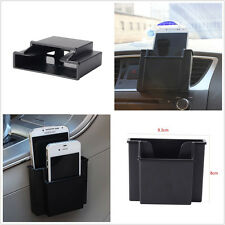 Car Air Vent Storage Box Mobile Phone Charger Cradle Pocket Bag Organizer Holder