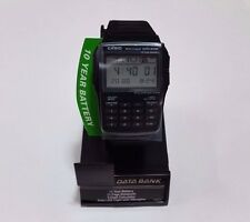 CASIO Data Bank Watch DBC32-1A 10 Years Battery Reverse import Water Resist F/S