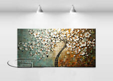 No Framed+Modern Abstract Art Oil Painting Wall Deco canvas -tree