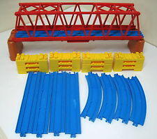 "Thomas & Friends, TOMY Trackmaster, 16"" Truss Bridge with Supports, Risers/Track"