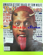 ROLLING STONE USA MAGAZINE 749/1996 Dennis Rodman Dave Matthews Geddy Lee No cd