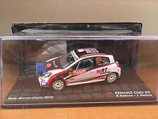 "DIE CAST "" RENAULT CLIO R3 RMC - 2010 R. KUBICA "" PASSIONE RALLY SCALA 1/43"