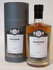 Springbank 1998-2014 Rum Cask MoS 14037 49,8% 70cl Bottle 15 of 185