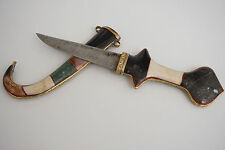 African Moroccan Marble Sword Islamic Handcrafted Dagger Jambiya Knife Koummya