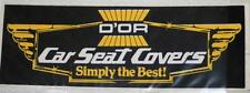 Retro Sticker - D'Or car set covers   Simply the best