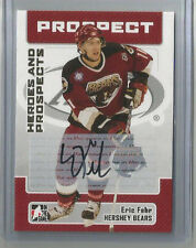 06-07 IN THE GAME HEROES AND PROSPECTS ERIC FEHR AUTO HERSHEY BEARS