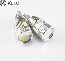 2x T10 CANBUS CREE LED 6 SMD 501 W5W SUPER BRIGHT WEDGE LIGHT WHITE XENON BULBS