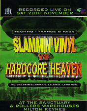 SLAMMIN VINYL VS HARDCORE HEAVEN (TECHNO/TRANCE CD COLLECTION) (NORTH, STEAM)