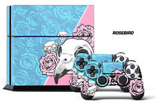 Designer Skin for PS4 Playstation 4 Console System & 2 Controller Decals ROSEBRD