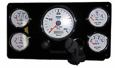 Engine Instrument Panel for Yanmar Engines - Custom, with wiring harness