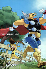 BETA RAY BILL MARVEL COMIC BOOK POSTER THOR AND THE WARRIORS FOUR #2 POWER PACK