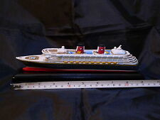 Disney Wonder Cruise Line Ship model replica - DCL cruiseline