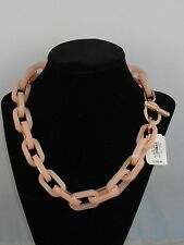 Michael Kors Rose Gold Pink VALENTINE'S DAY  Pave Toggle Necklace MKJ5110 $250
