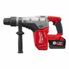 MARTELLO DEMOLITORE PERFORATORE MILWAUKEE M18CHM-902C 6,1J + 2 BATTERIE 9 AH