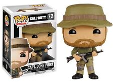 FUNKO POP GAMES CALL OF DUTY CAPTAIN JOHN PIERCE #72 NEW IN BOX #6824