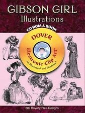 Gibson Girl Illustrations CD-ROM and Book Dover Electronic Clip Art)