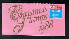 NUOVA Zelanda 1988 $3.50 NATALE LIBRETTO Gomma integra, non linguellato SGSB 50