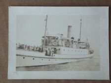 Vintage 1915's PHOTO - FERRY BOAT - NEW LONDON, CONNECTICUT AREA