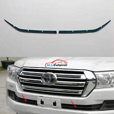 Front Bottom Racing Grill Cover Trim For Toyota Land Cruiser V8 FJ200 LC200 2016