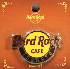 Hard Rock Cafe TORONTO 2011 Classic HRC Logo MAGNET Mint New on Card - CITY CORE