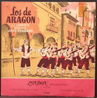 "LOS DE ARAGON - ZARZUELA BY J.J. LORENTE - J. SERRANO ORIGINAL ENGLISH 10"" RARE!"