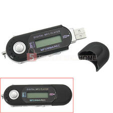 Lettore MP3 32GB Supporto FM-Radio Registrazione Nero USB2,0 LCD Flash Drive